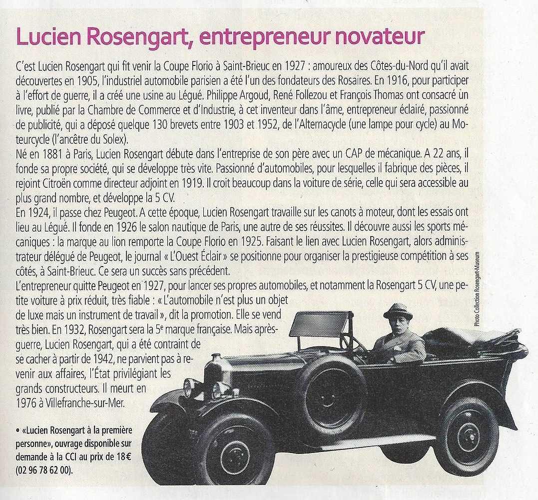 Qui était Lucien Rosengart 0